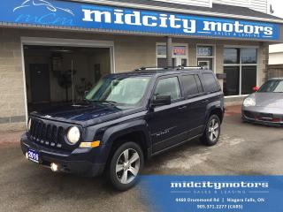 Used 2016 Jeep Patriot High Altitude 4x4/ Sunroof/ Leather/ NAV for sale in Niagara Falls, ON