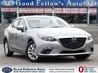 Used 2015 Mazda MAZDA3 GS MODEL, SKYACTIV, REARVIEW CAMERA, HEATED SEATS for sale in Toronto, ON