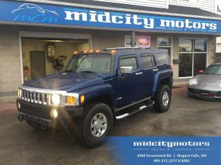 Used 2006 Hummer H3 4x4/ Sunroof/ Leather heated seats/ DVD for sale in Niagara Falls, ON