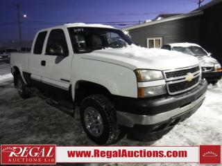 Used 2007 Chevrolet Silverado 2500 HD 4D EXT CAB 4WD for sale in Calgary, AB
