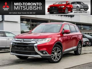 Used 2016 Mitsubishi Outlander GT Leather|Sunroof|7 PSGR|Back Up Camera for sale in North York, ON