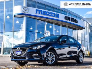 Used 2015 Mazda MAZDA3 Sport GS, ONE OWNER, NO ACCIDENTS,FINANCE AVAILABLE for sale in Mississauga, ON