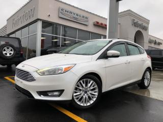 Used 2017 Ford Focus Titanium.Leather   Roof   Navi for sale in Burlington, ON
