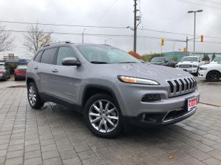 Used 2018 Jeep Cherokee Limited LOW KMS!!**Heated AND Ventilated Seats** for sale in Mississauga, ON