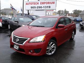 Used 2014 Nissan Sentra SR Auto Navigation/Alloys/Sunroof for sale in Mississauga, ON
