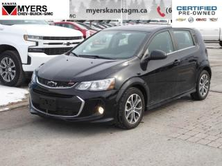 Used 2018 Chevrolet Sonic LT  Satellite Radio and Onstar With 4G LTE Hotspot for sale in Ottawa, ON