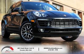 Used 2016 Porsche Macan S|Navigation|Backup Camera|Pano Roof|Rear Heated Seats for sale in Toronto, ON