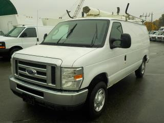 Used 2011 Ford Econoline E-150 Cargo Van with Ladder Rack & Rear Shelving for sale in Burnaby, BC