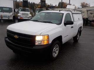 Used 2011 Chevrolet Silverado 1500 Regular Cab Regular Box WT 2WD with Service Canopy and Ladder Rack for sale in Burnaby, BC