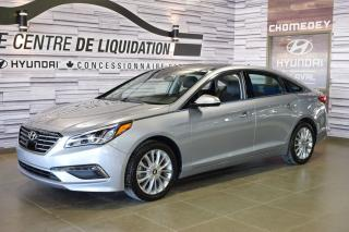 Used 2015 Hyundai Sonata Ltd+gps+cuir+t.ouvra for sale in Laval, QC