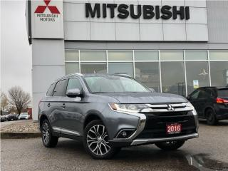Used 2016 Mitsubishi Outlander GT S-AWC| REMOTE START| LEATHER| HEATED SEATS| LDW for sale in Mississauga, ON