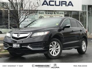 Used 2016 Acura RDX at - 3.5L V6 | Power Liftgate for sale in Markham, ON
