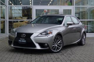 Used 2014 Lexus IS 250 AWD 6A *Navi* for sale in Vancouver, BC