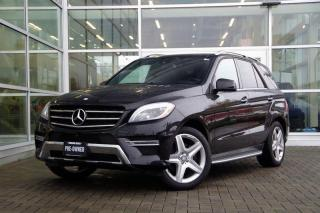 Used 2015 Mercedes-Benz ML 350 BlueTEC 4MATIC *AMG*Low Kms* for sale in Vancouver, BC