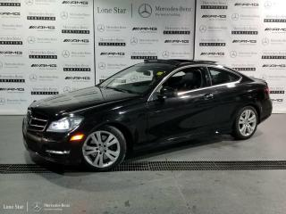 Used 2015 Mercedes-Benz C350 4Matic Coupe for sale in Calgary, AB