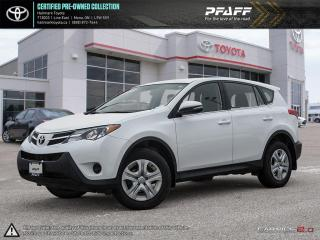 Used 2015 Toyota RAV4 AWD LE ONE OWNER, BOUGHT & SERVICED HERE! for sale in Orangeville, ON