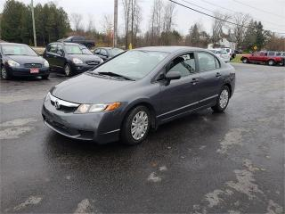 Used 2009 Honda Civic Sdn auto 128k safetied DX for sale in Madoc, ON