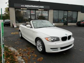 Used 2011 BMW 1 Series 128 128 128I CONVERTIBLE **NAVIGATION/GPS** for sale in St-Hubert, QC