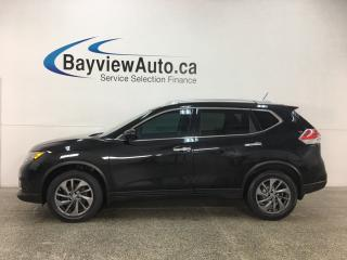 Used 2016 Nissan Rogue SL Premium - PANOROOF! BSA! HTD LTHR! NAV! REV CAM! CRUISE! for sale in Belleville, ON