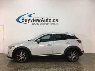 Used 2017 Mazda CX-3 GT - AWD! SUNROOF! NAV! REVERSE CAM! BLUETOOTH! BSA! BOSE SOUND! for sale in Belleville, ON