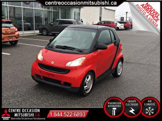 Used 2011 Smart fortwo PASSION AUTOMATIQUE A/C GR ELECTRIQUE for sale in St-Jérôme, QC