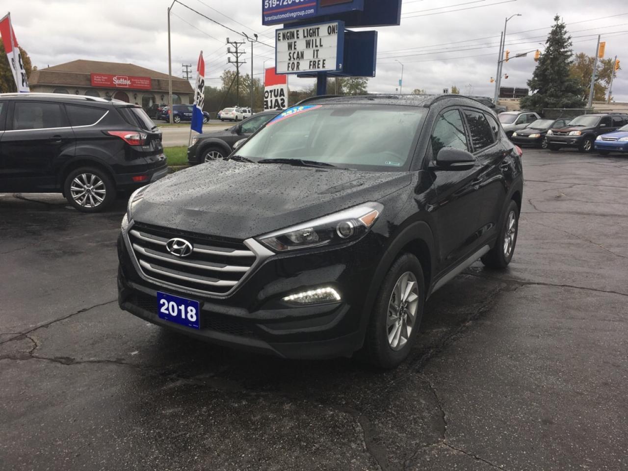 2018 Hyundai Tucson SE 2.0L AWD/LEATHER