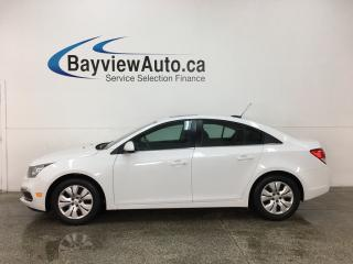 Used 2015 Chevrolet Cruze 1LT - REM START! SUNROOF! A/C! REV CAM! BLUETOOTH! PIONEER SOUND! CRUISE! for sale in Belleville, ON