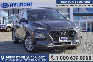 Used 2018 Hyundai KONA 2.0L Luxury BC OWNED for sale in Abbotsford, BC