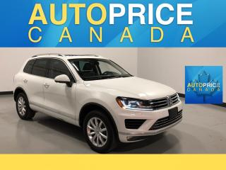 Used 2016 Volkswagen Touareg 3.6L Comfortline NAVIGATION|PANOROOF|LEATHER for sale in Mississauga, ON