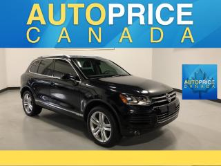 Used 2014 Volkswagen Touareg 3.0 TDI Comfortline NAVIGATION|PANOROOF|LEATHER for sale in Mississauga, ON