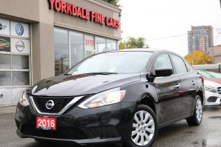 Used 2016 Nissan Sentra 1.8 S NON RENTAL . NON ACCIDENTS. REVERSE CAMERA for sale in Toronto, ON