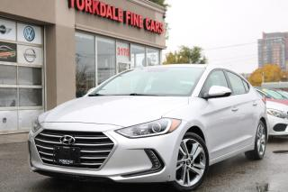 Used 2017 Hyundai Elantra GLS Reverse Camera. Blind Spot Assist. Moon Roof for sale in Toronto, ON