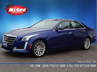 Used 2015 Cadillac CTS 2.0L Turbo Luxury for sale in Peterborough, ON