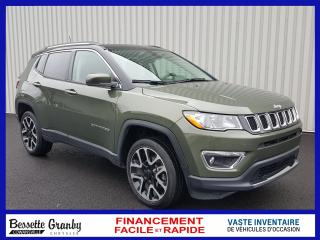 Used 2018 Jeep Compass Ltd-Toit Pano-Nav for sale in Cowansville, QC