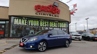 Used 2017 Nissan Sentra SL SUNROOF LEATHER NAVI REAR CAM PUSH START for sale in Toronto, ON