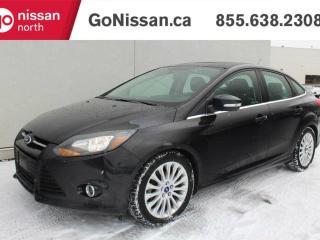 Used 2012 Ford Focus TITANIUM, LEATHER, SUNROOF, NAVIGATION for sale in Edmonton, AB