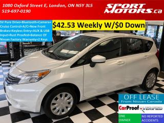 Used 2015 Nissan Versa Note SV+Bluetooth+Camera+Rust Proofed+New Brakes+AC for sale in London, ON