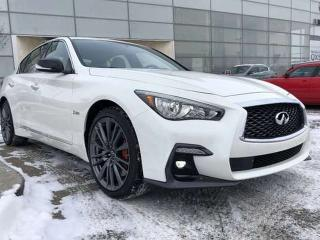 Used 2019 Infiniti Q50 EXECUTIVE DEMO/RED SPORT 400 ESSENTIAL PKG for sale in Edmonton, AB