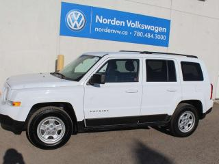 Used 2012 Jeep Patriot SPORT AUTOMATIC for sale in Edmonton, AB