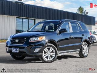 Used 2010 Hyundai Santa Fe Limited w/Navi,AWD,R.VIEW CAM,PWR S.ROOF,LEATHER for sale in Barrie, ON