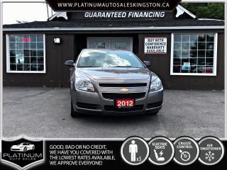 Used 2012 Chevrolet Malibu LS 91KMS / FINANCE ME for sale in Kingston, ON
