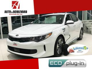 Used 2017 Kia Optima Hybride EX PHEV PLUG-IN HYBRID SPECIAL NEUF for sale in Notre-Dame-des-Pins, QC