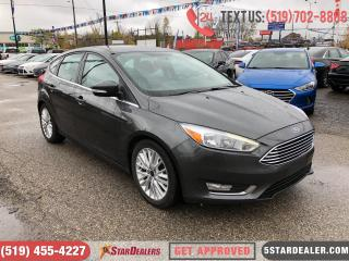 Used 2016 Ford Focus Titanium | LEATHER | ROOF | CAM for sale in London, ON