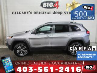 Used 2016 Jeep Cherokee Trailhawk | V6 | Tow Pkg | Pano Roof for sale in Calgary, AB