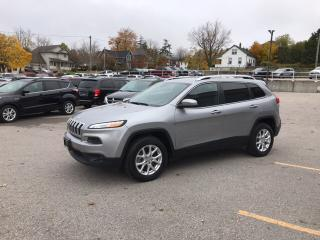 Used 2016 Jeep Cherokee North | 4X4 | V6 | BIG SCREEN | REMOTE START | PAR for sale in Mitchell, ON