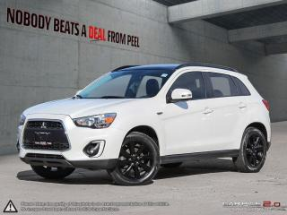 Used 2015 Mitsubishi RVR GT*MOONROOF*LEATHER*REVERSE CAM*BLUETOOTH* for sale in Mississauga, ON