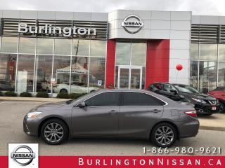 Used 2015 Toyota Camry XLE, V6, LEATHER, ROOF, ACCIDENT FREE ! for sale in Burlington, ON