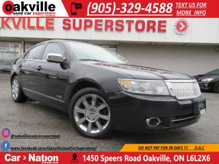 Used 2009 Lincoln MKZ AWD | LEATHER | NAVI | MOONROOF for sale in Oakville, ON