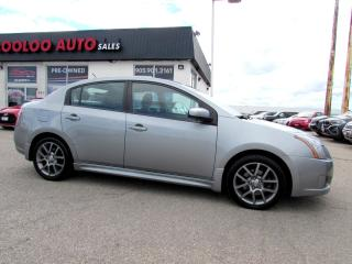 Used 2010 Nissan Sentra SE-R NAVIGATION CAMERA SUNROOF CERTIFIED 2YR WARRANTY for sale in Milton, ON