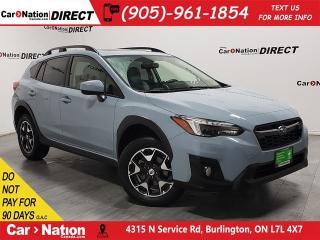 Used 2018 Subaru XV Crosstrek Sport| AWD| SUNROOF| BACK UP CAMERA| LOCAL TRADE| for sale in Burlington, ON